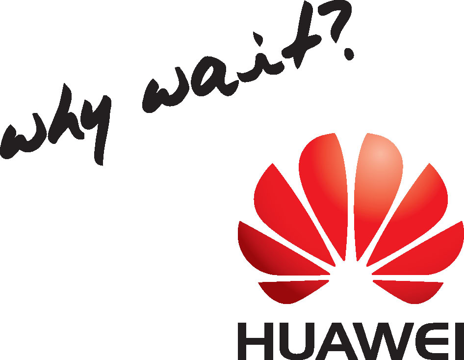 Huawei Why Wait Logo
